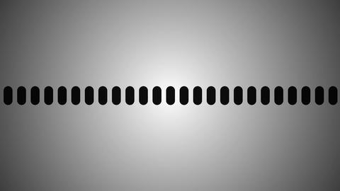 black & white audio Stock Video Footage