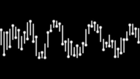 audio bar white Animation
