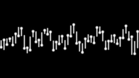 audio bar white Stock Video Footage