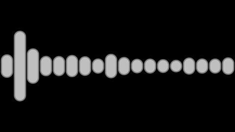 audio graphic luminance Animation