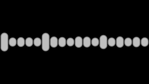 audio graphic luminance Stock Video Footage