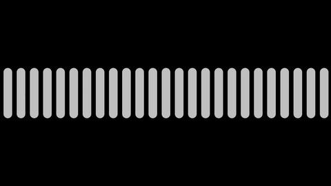 audio black & white Animation