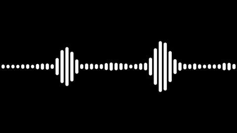 digital beat wave Stock Video Footage