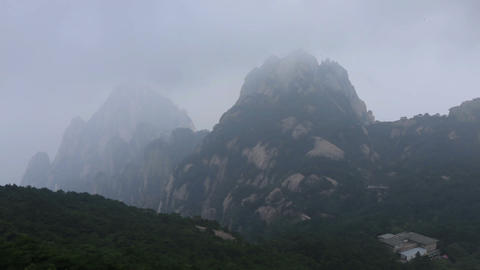 Huangshan Stock Video Footage