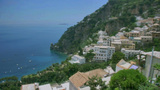 Positano Italy North Coast stock footage