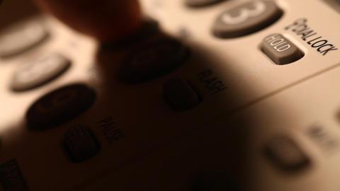 Telephone Stock Video Footage