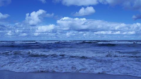 Big blue sea Stock Video Footage