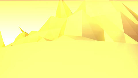Geometric Mountain 1 stock footage