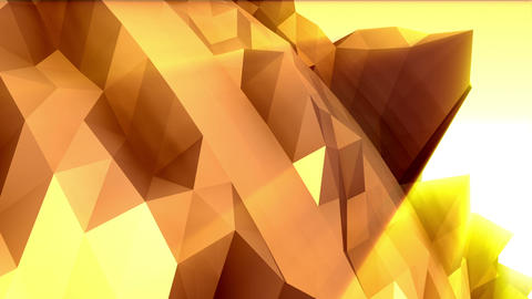 Geometric Mountain 3 Animation