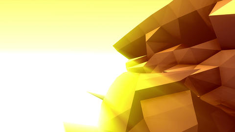 Geometric Mountain 5 Animation