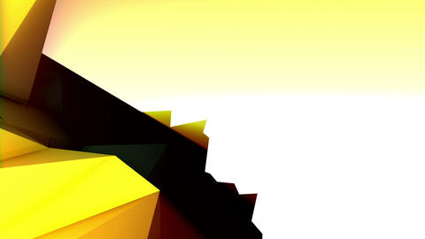 Geometric Mountain 9 Stock Video Footage