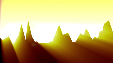 Geometric Mountain 8 Stock Video Footage