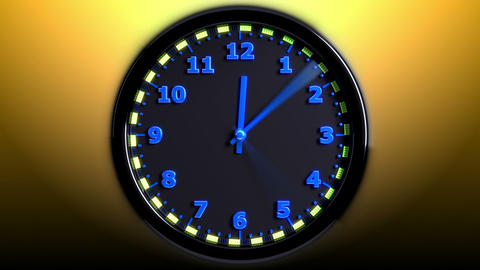 Sport 3D Clock Stock Video Footage
