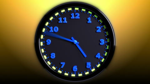 Sport 3D Clock Stock Video Footage