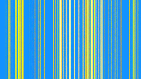Vertical Yellow Lines on Blue Stock Video Footage