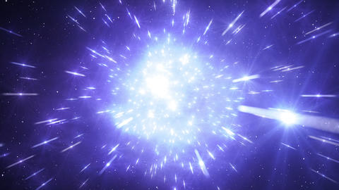 Star Field Space flash a 2c HD Animation