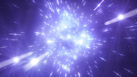 Star Field Space flash a 2c HD Stock Video Footage