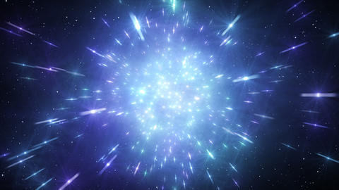 Star Field Space tunnel a 1b HD Animation