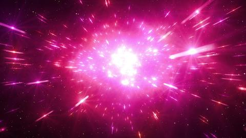 Star Field Space tunnel b 2c HD Stock Video Footage