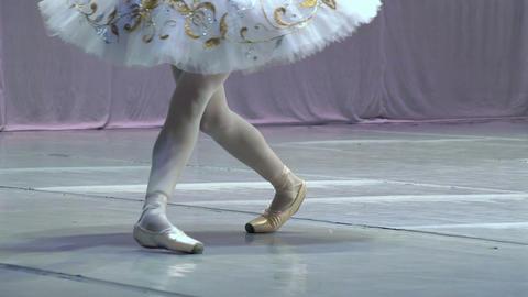 Dance of the Ballerina HD Stock Video Footage