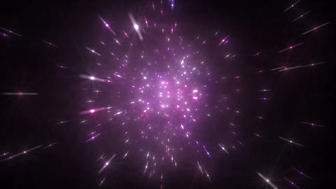 Star Field Space flash a 3b HD Stock Video Footage