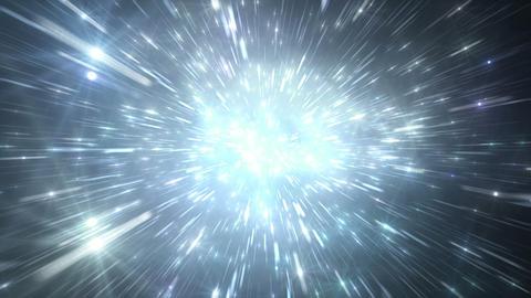 Star Field Space flash b 3b HD Stock Video Footage