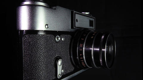 Old camera Stock Video Footage