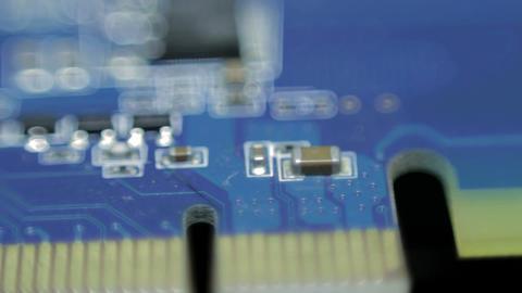 Microscheme Stock Video Footage
