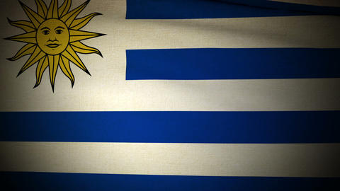 Flag Uruguay 04 Animation