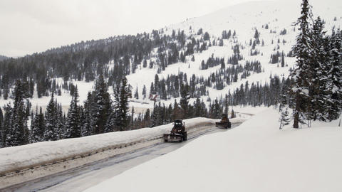 Mountain Road Stock Video Footage