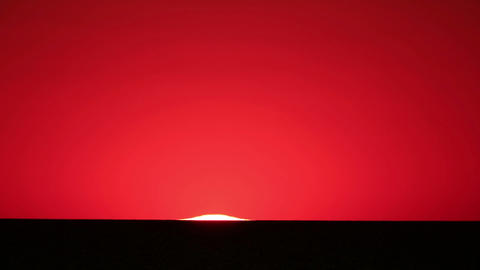 Sunset over the reservoir in Kremenchuk. Mountain Stock Video Footage