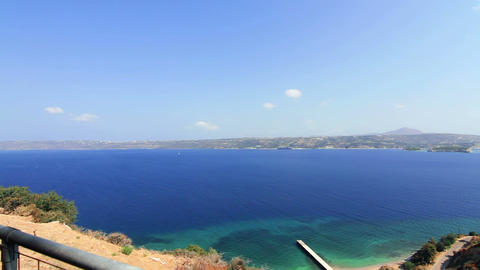 Panorama of the sea Stock Video Footage