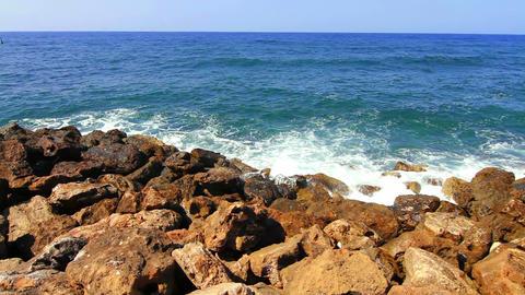 Sea Greece Footage