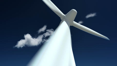 Wind Turbine Animation