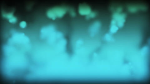 Cloudy Smoke Blue Stock Video Footage