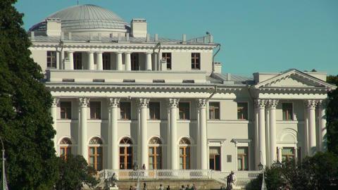 Elagin Palace Stock Video Footage