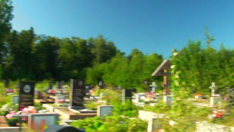 Cemetery Footage