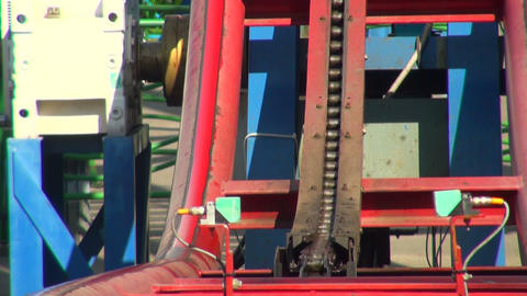 Lifting mechanism Stock Video Footage