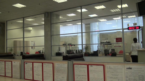 Empty office Stock Video Footage
