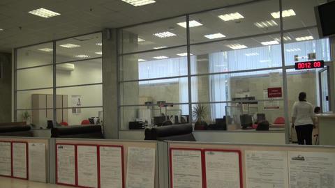 Empty office Footage