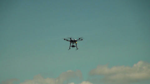Multirotor, Photography, Helicopter Stock Video Footage