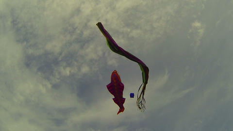 Kite in the sky Footage