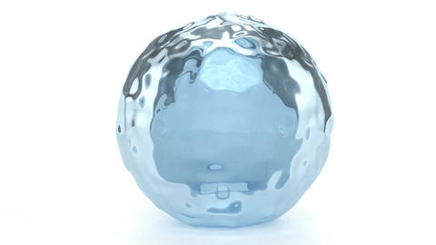 Water Globe Stock Video Footage