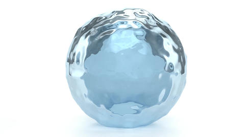 Water Globe stock footage