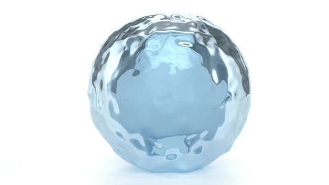 Water Globe Stock Video Footage