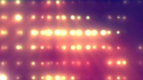 Flood Lights 1 Stock Video Footage