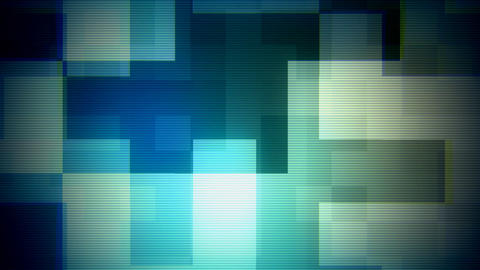 Glitch Moving Boxes 1 Stock Video Footage