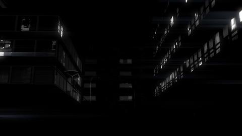 Black City 01 Stock Video Footage