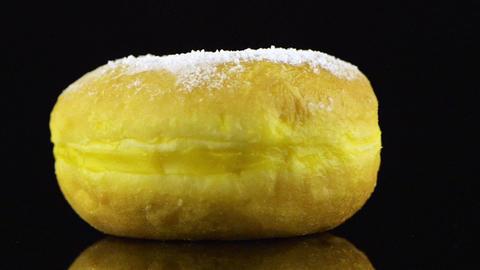 Tasty donut Stock Video Footage