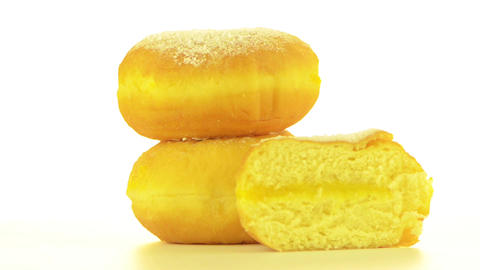 Tasty donuts Stock Video Footage
